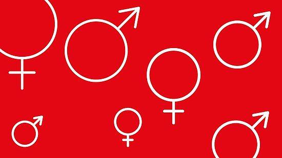 Icons für weibliche und männlich