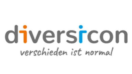 Logo diversicon - verschieden ist normal